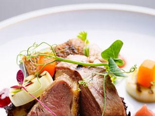 Exclusieve kruiden en groenten voor restaurant