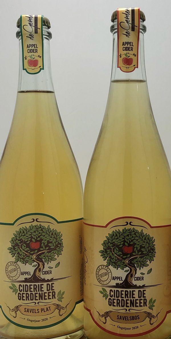 De Gerdeneer Cider Savelsbos en Savelsplat combi