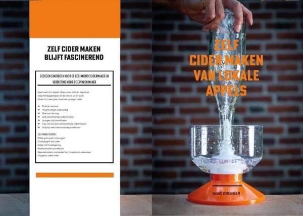 Zelf Cider Maken boek de Gerdeneer